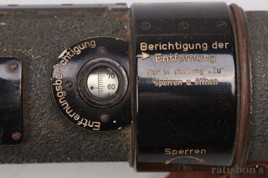 Entfernungsmesser Em 34 : Ratisbons wehrmacht rangefinder em34 discover genuine militaria