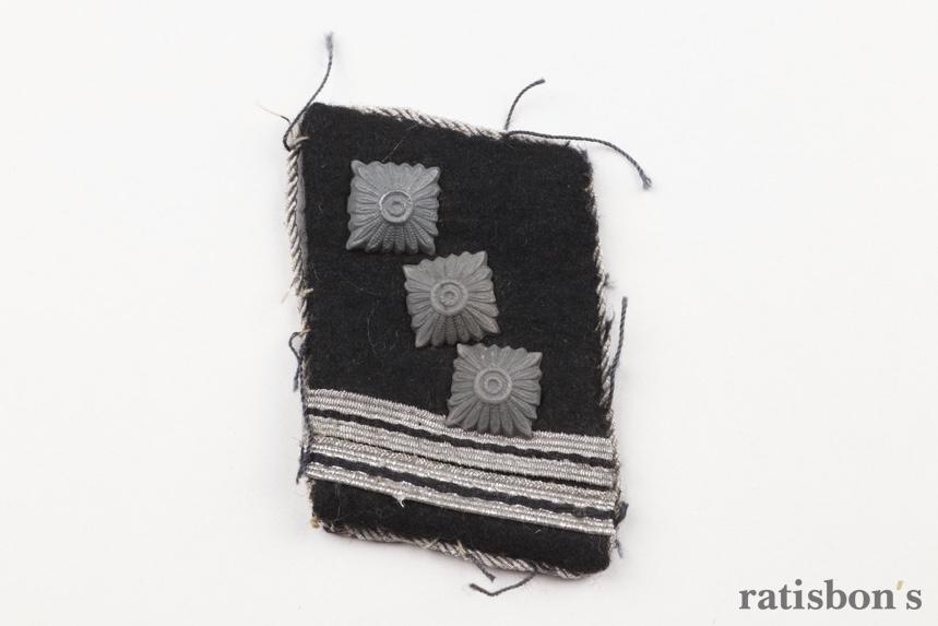 ratisbon's | Waffen-SS collar tab - SS-Hauptsturmführer
